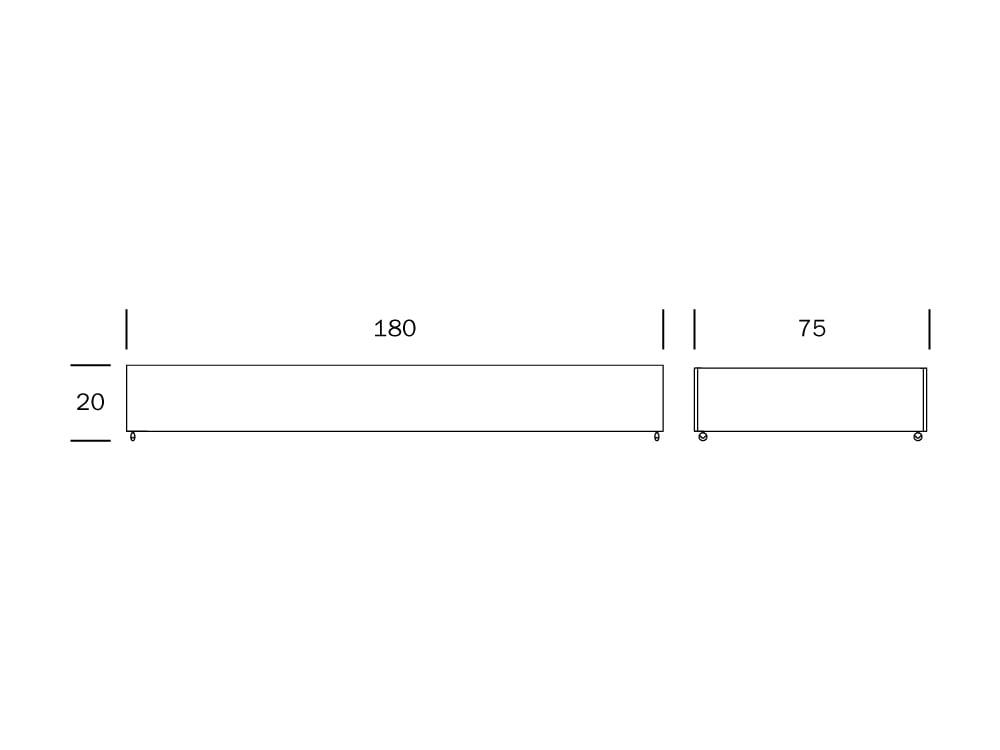 Franz vuodevaatelaatikko mitat